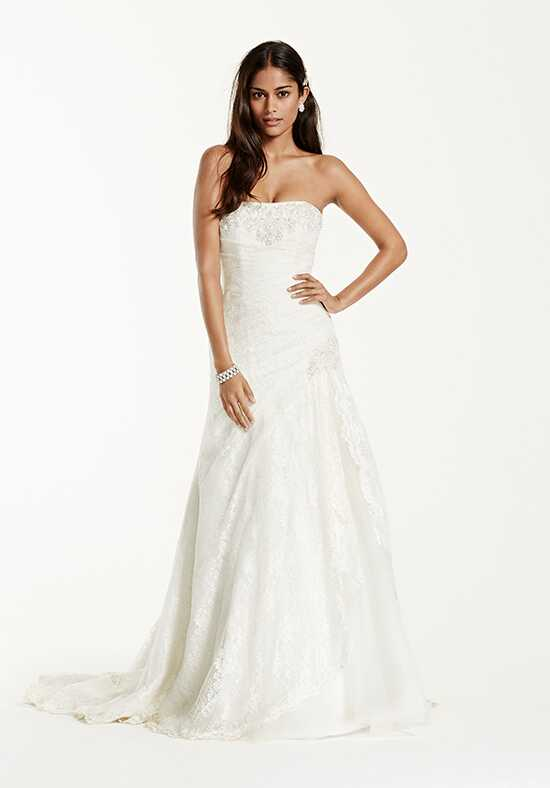 David's Bridal David's Bridal Collection Style YP3344 A-Line Wedding Dress