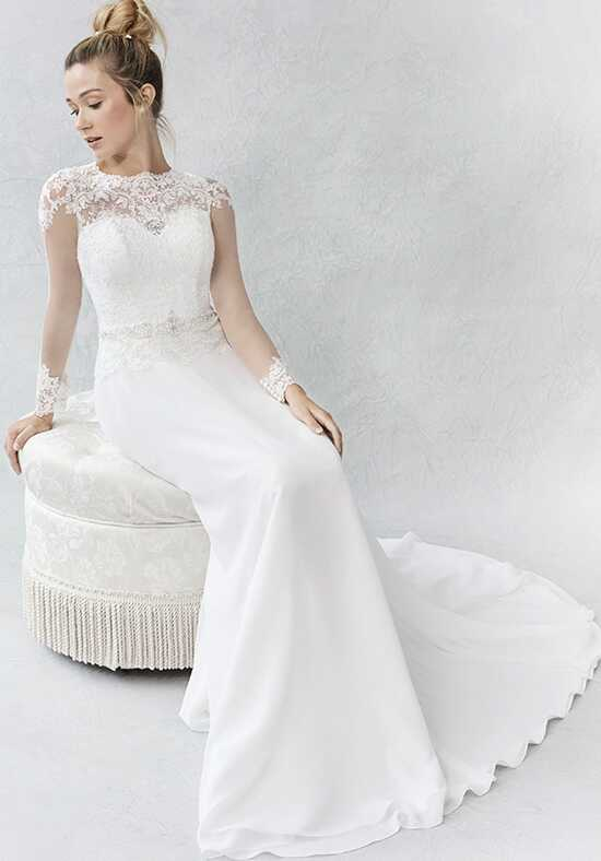 Kenneth Winston: Ella Rosa Collection BE366 Sheath Wedding Dress