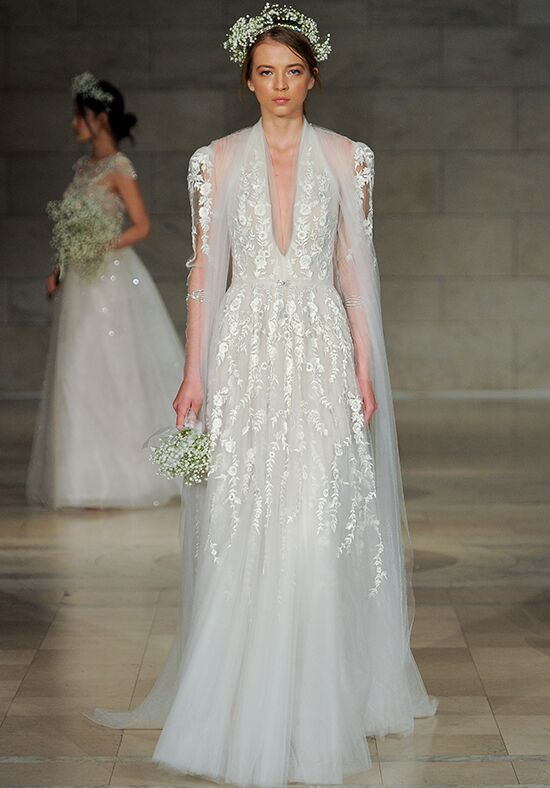 Reem Acra Passion A-Line Wedding Dress