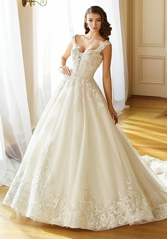 Martin Thornburg a Mon Cheri Collection 217202 Anna Ball Gown Wedding Dress