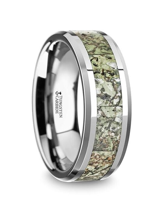 Mens Tungsten Wedding Bands C5725-TLGDB Tungsten Wedding Ring
