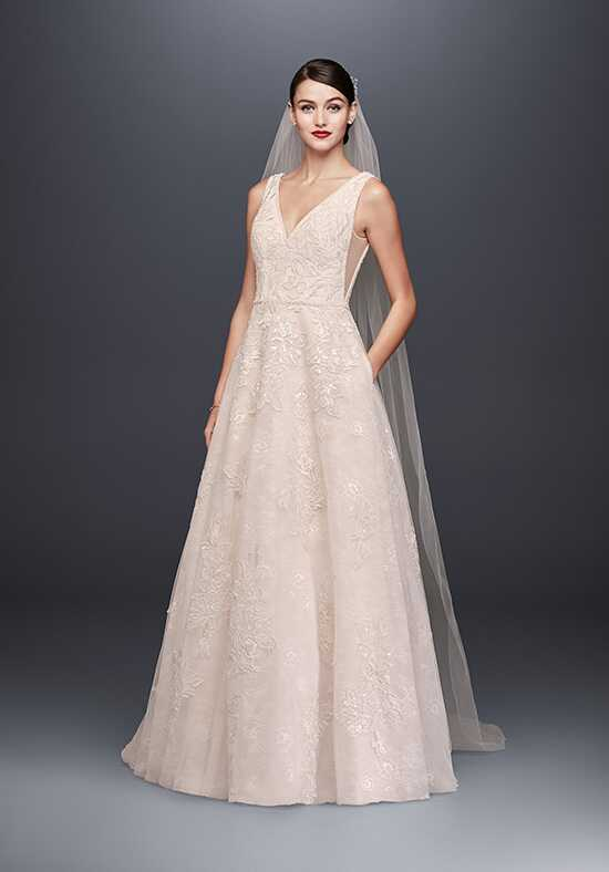 Oleg Cassini at David's Bridal Oleg Cassini at David's Bridal Style CWG792 A-Line Wedding Dress