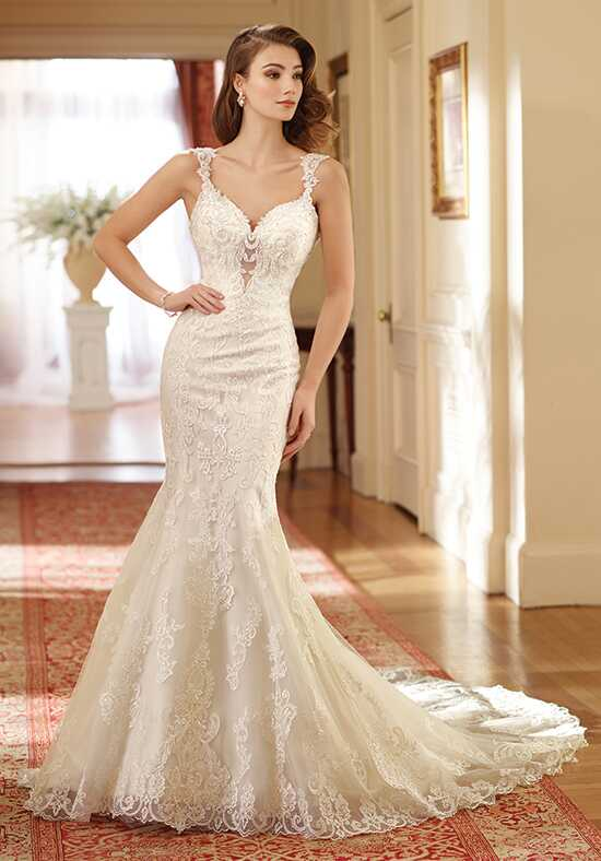 David Tutera for Mon Cheri 217206 Susie Mermaid Wedding Dress
