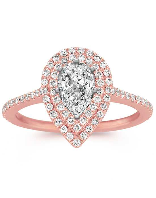 Shane Co. Elegant Pear Cut Engagement Ring
