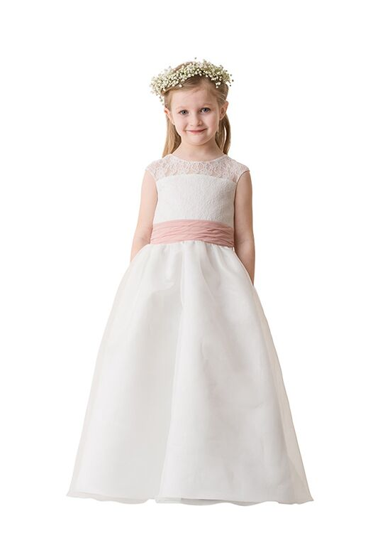 Bari Jay Flower Girls F5716 Pink Flower Girl Dress