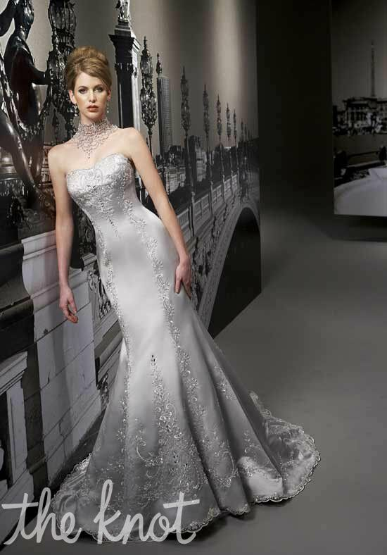 Jasmine Couture T192 Mermaid Wedding Dress