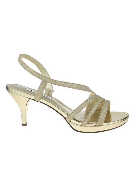Nina Bridal Wedding Accessories Neely_Gold Gold Shoe