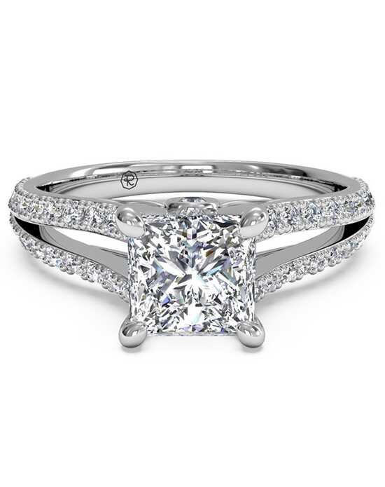 Ritani Glamorous Princess Cut Engagement Ring