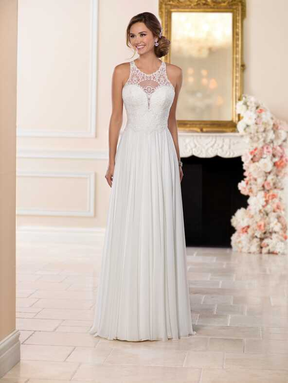 Stella York 6542 Sheath Wedding Dress