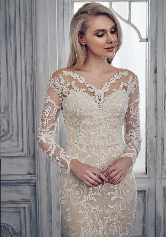 Calla Blanche 17121 Ivy Sheath Wedding Dress