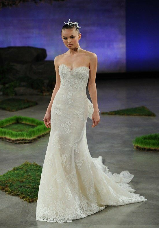 Ines di santo lara wedding dress the knot for Ines di santo wedding dress prices