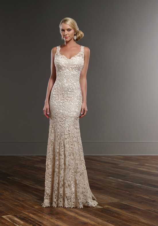 Martina Liana 740 Sheath Wedding Dress