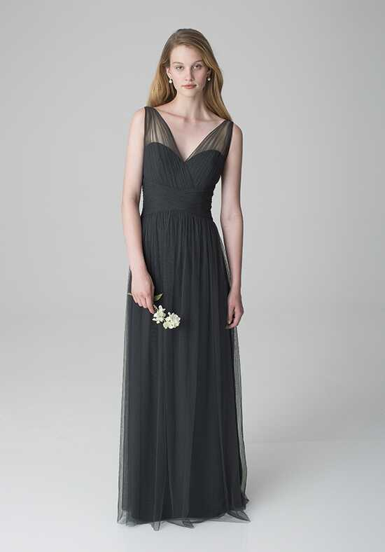 Bill Levkoff 1255 V-Neck Bridesmaid Dress