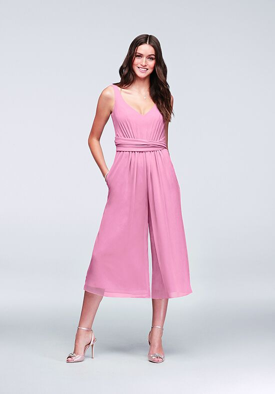 David's Bridal Collection David's Bridal Style F19741 V-Neck Bridesmaid Dress