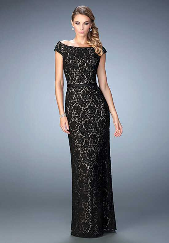 La Femme Evening 21812 Black Mother Of The Bride Dress