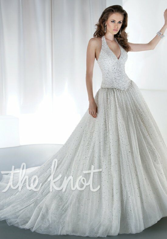 Demetrios 540 Ball Gown Wedding Dress