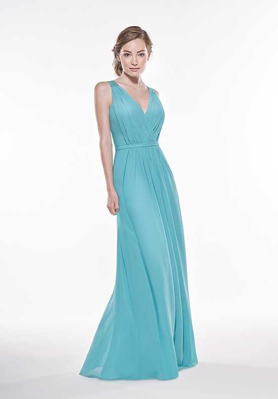 JASMINE P196009 V-Neck Bridesmaid Dress