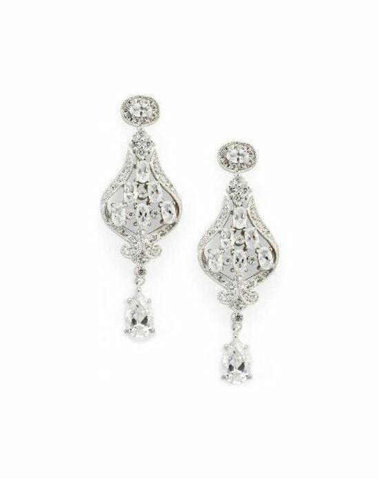 Anna Bellagio KYRA CUBIC ZIRCONIA AND CRYSTAL EARRINGS Wedding Earring photo