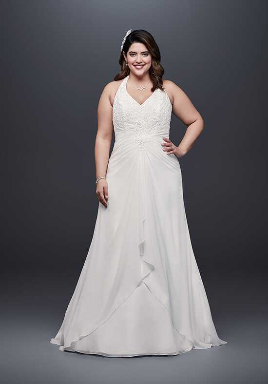 David's Bridal David's Bridal Style 9WG3918 A-Line Wedding Dress