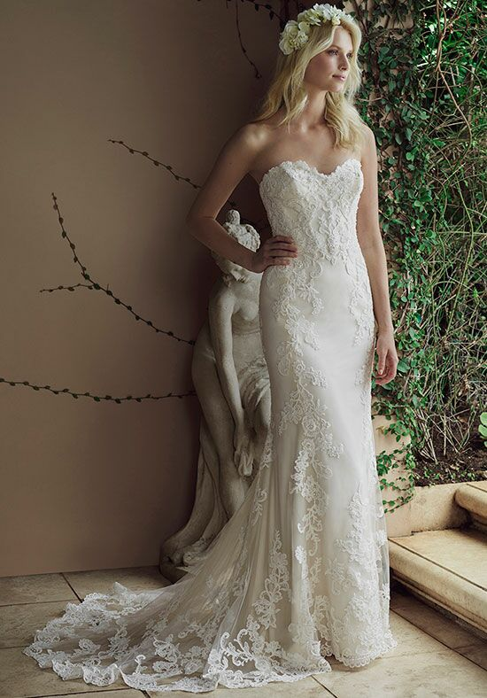 Casablanca Bridal 2236 Hazel Sheath Wedding Dress