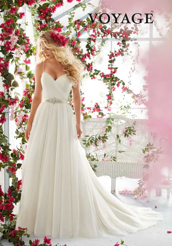 Morilee by Madeline Gardner/Voyage 6812 A-Line Wedding Dress