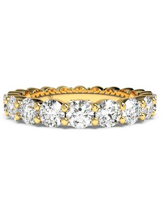 Ritani Women's Slim Round-Cut Diamond Prong-Set Eternity Band - in 18kt Yellow Gold - (2.10 CTW) Gold Wedding Ring