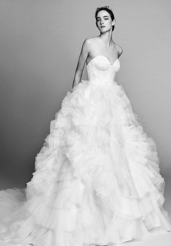 Viktor&Rolf Mariage Circle pleated tulle gown Ball Gown Wedding Dress