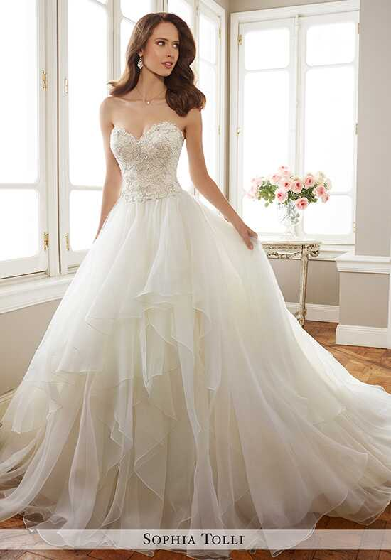 Sophia Tolli Y11716 Tropez A-Line Wedding Dress