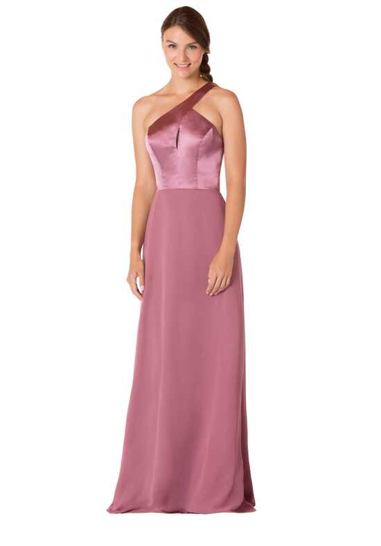 Bari Jay Bridesmaids 1722 One Shoulder Bridesmaid Dress