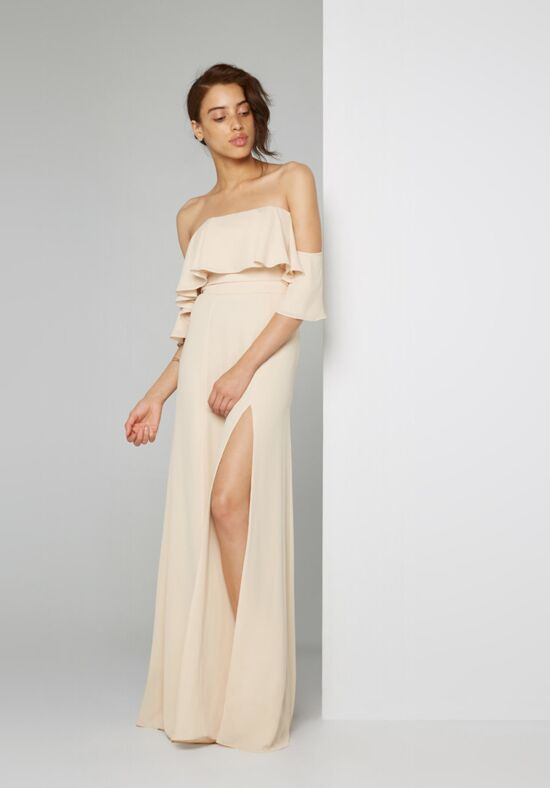 Fame and Partners Bridesmaid The Rio Dress Off the Shoulder Bridesmaid Dress