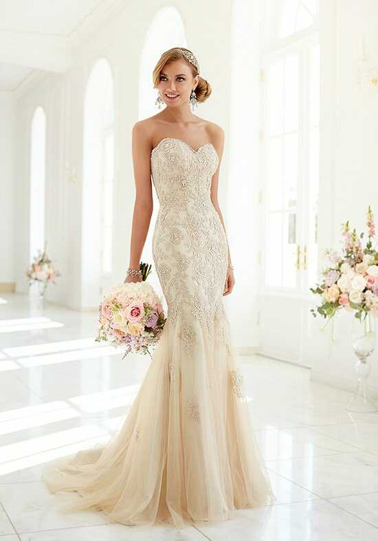 Stella York 5986 Sheath Wedding Dress