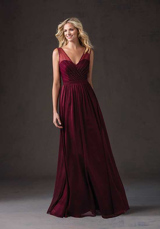 Belsoie L184060 V-Neck Bridesmaid Dress
