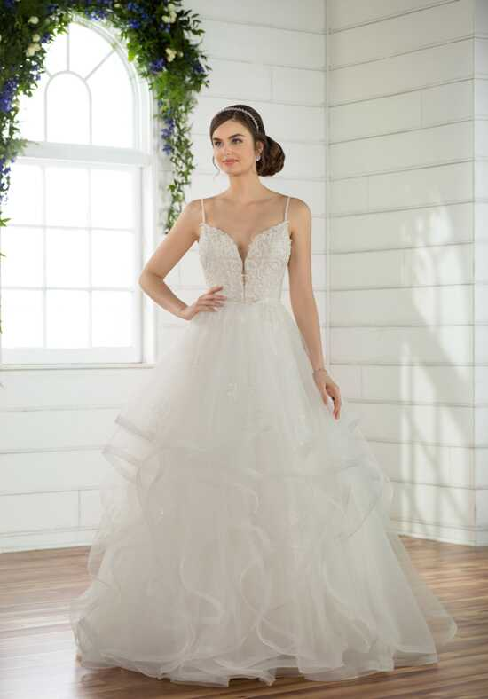 Essense of Australia D2489 Ball Gown Wedding Dress