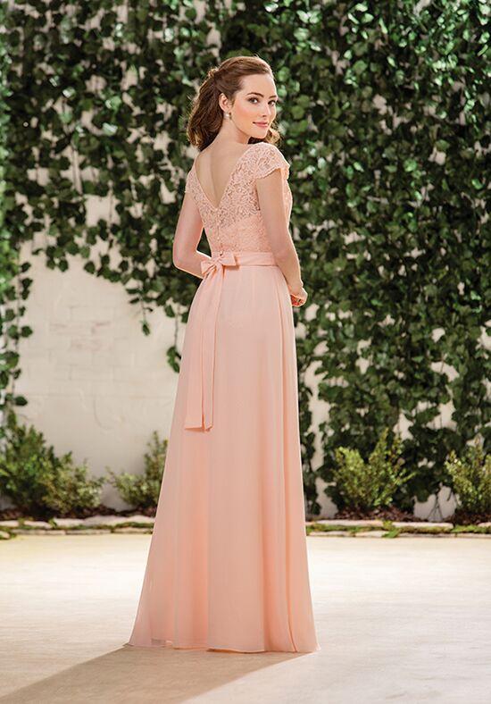 B2 By Jasmine B183059 V Neck Bridesmaid Dress