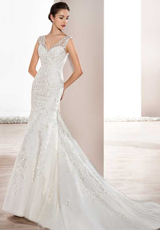 Demetrios 714 Sheath Wedding Dress