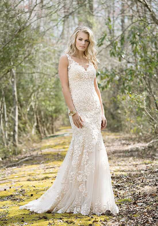Lillian West 6472 A-Line Wedding Dress