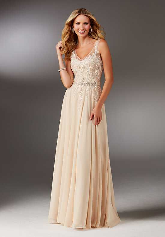 MGNY 71520 Champagne Mother Of The Bride Dress