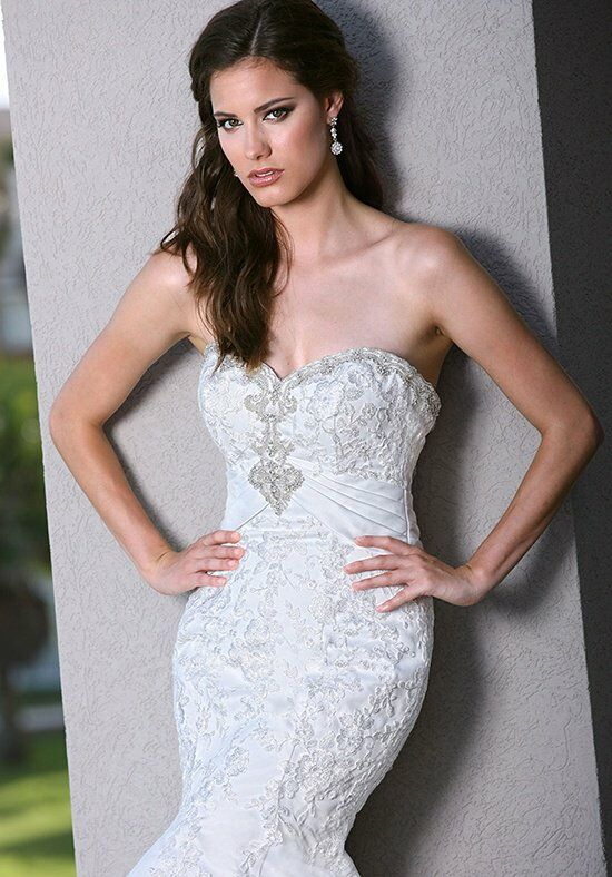 DaVinci Bridal 50238 Mermaid Wedding Dress