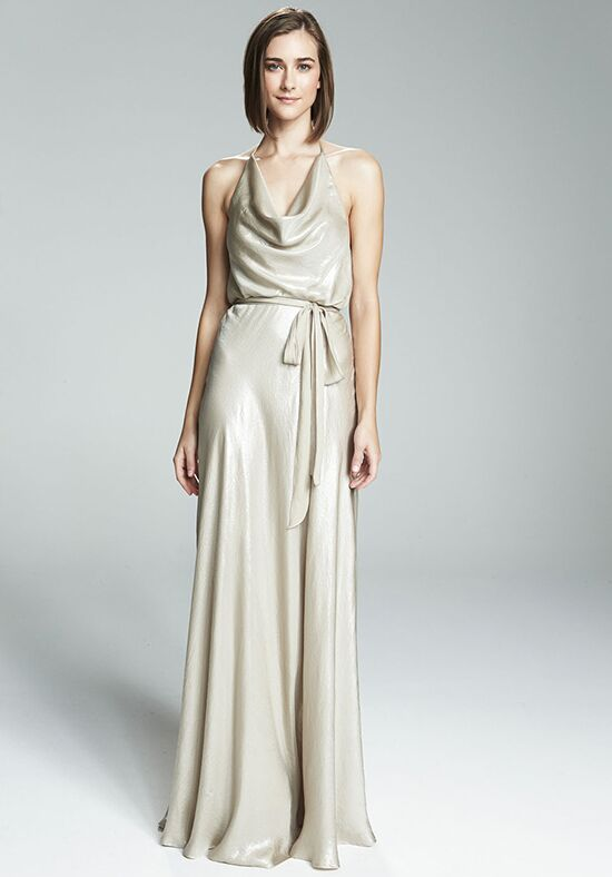 Nouvelle Amsale Bridesmaids Liane Halter Bridesmaid Dress