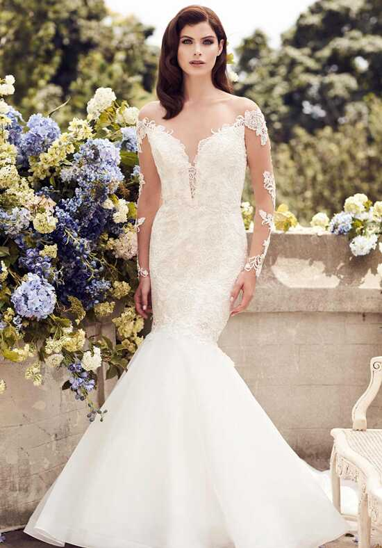 Paloma Blanca 4728 Mermaid Wedding Dress