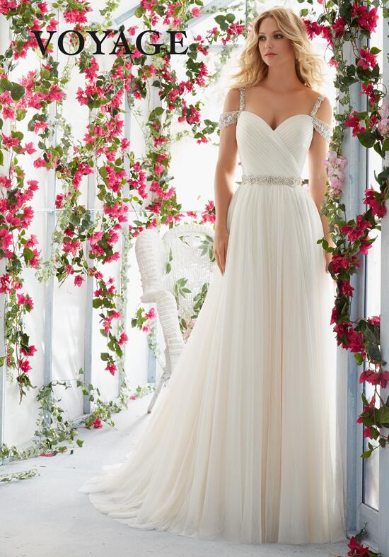Voyage by Madeline Gardner 6814 Wedding Dress photo