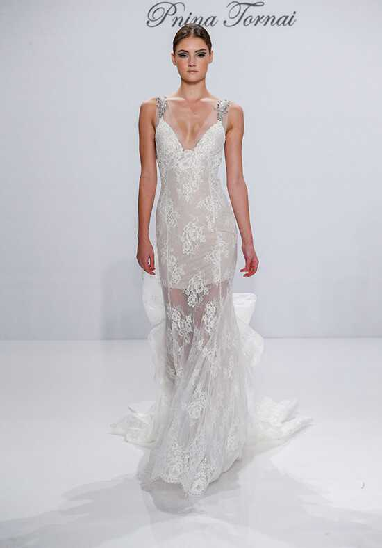 Pnina Tornai for Kleinfeld 4540 Sheath Wedding Dress