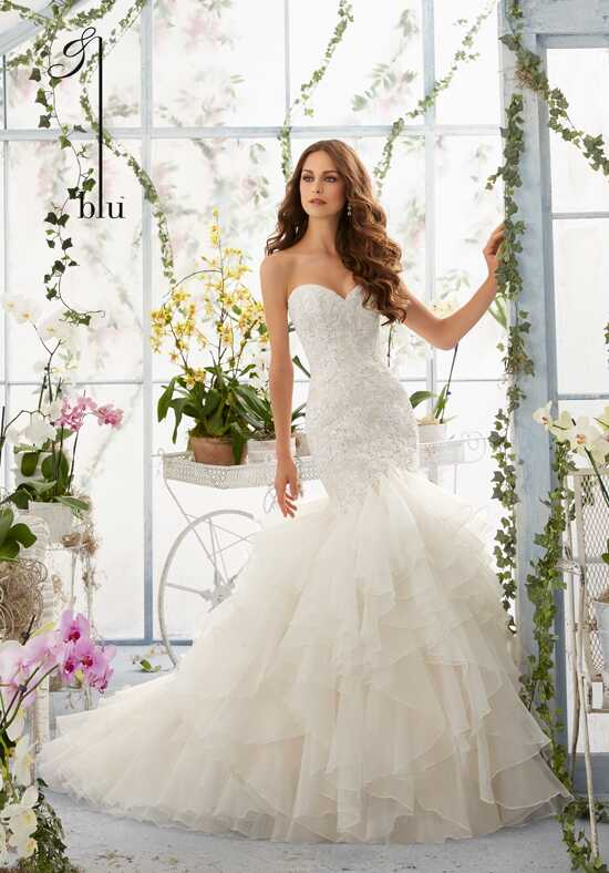 Morilee by Madeline Gardner/Blu 5409 Mermaid Wedding Dress