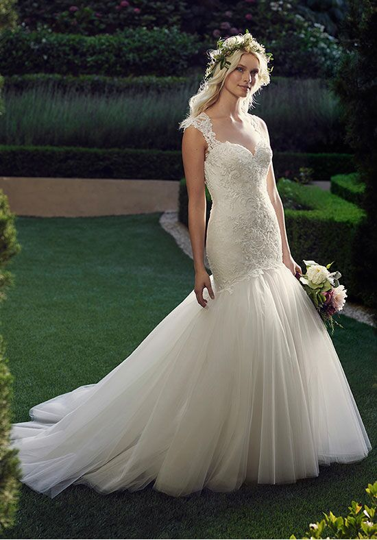 Casablanca Bridal 2237 Daffodil Mermaid Wedding Dress