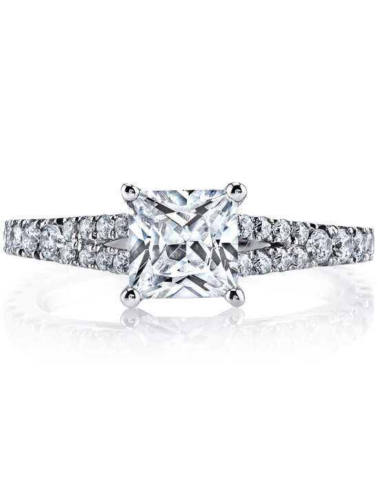 MARS Fine Jewelry Classic Princess Cut Engagement Ring