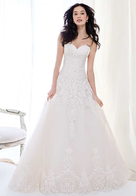 Kenneth Winston: Ella Rosa Collection BE404 A-Line Wedding Dress