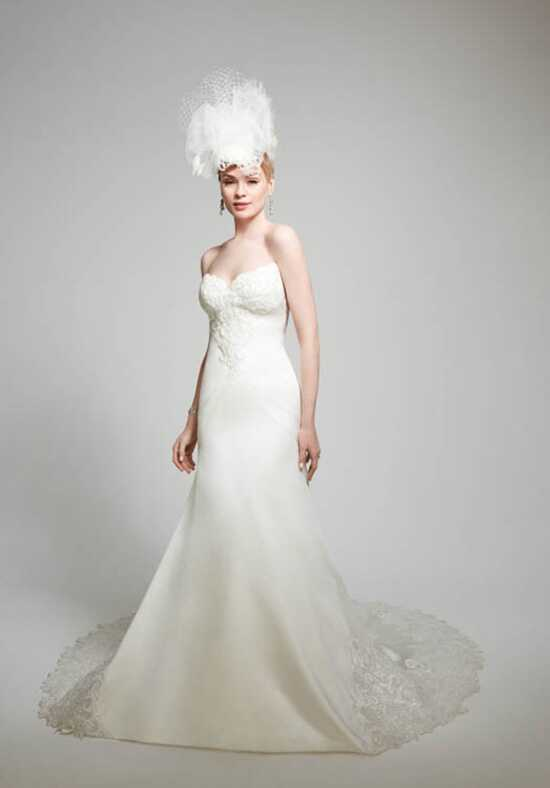 Matthew Christopher Lillian Mermaid Wedding Dress
