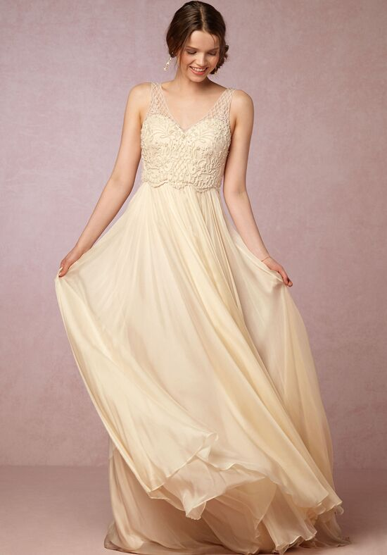 Bhldn ostara gown wedding dress the knot for How do you preserve a wedding dress
