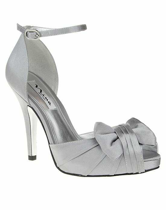 Nina Bridal Wedding Accessories ELLA_ROYAL SILVER Silver Shoe