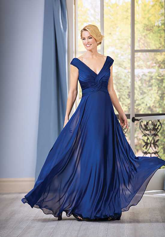 Jade J185051 Blue Mother Of The Bride Dress